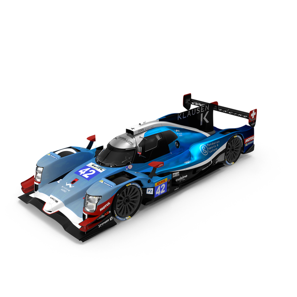 Lemans Prototype: Cool Racing Oreca 07 LMP2 PNG & PSD Images