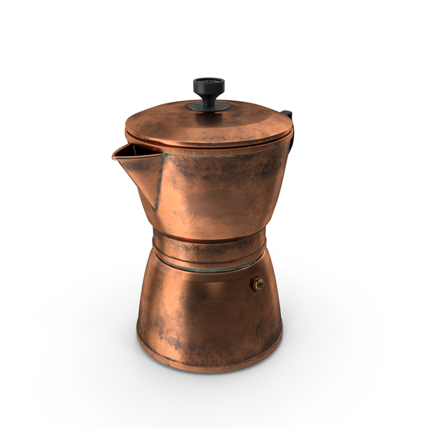 Copper Coffee Pot PNG & PSD Images