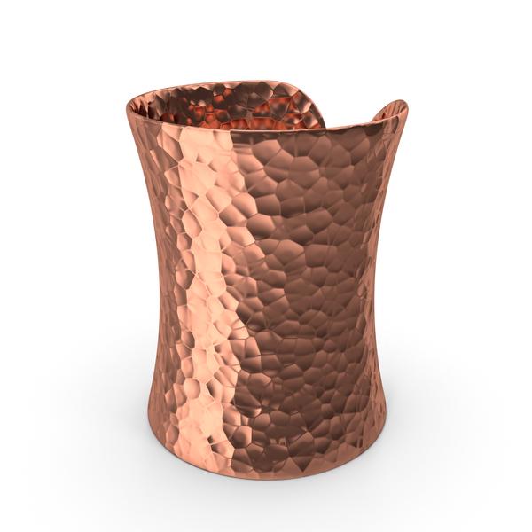 Bracelet: Copper Cuff PNG & PSD Images