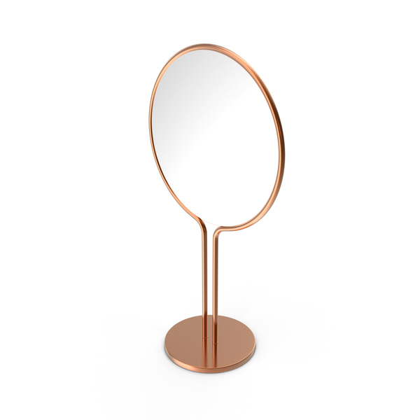 Copper Dressing Table Mirror PNG & PSD Images