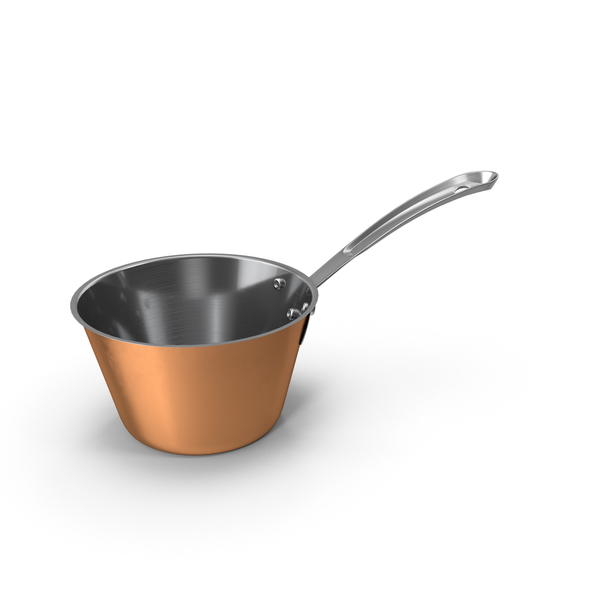 Copper Kitchen Sauce Pan PNG & PSD Images