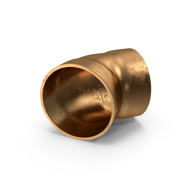 Copper Pipes and Fittings PNG & PSD Images