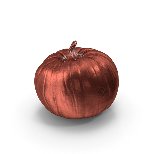 General Decor: Copper Pumpkin PNG & PSD Images