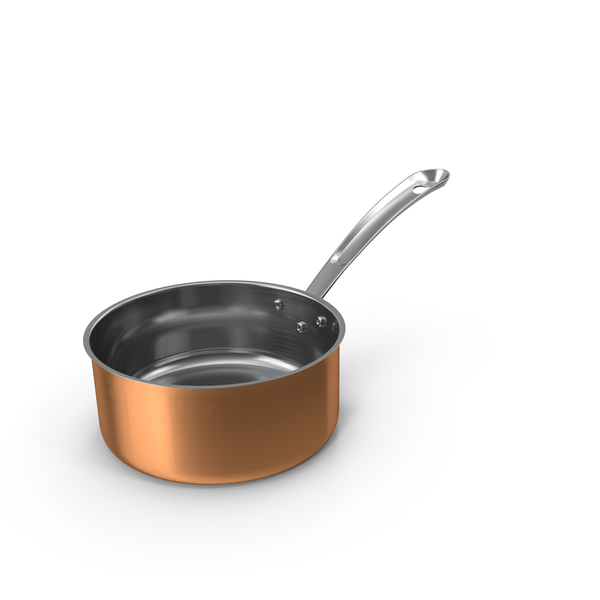 Copper Sauce Pan PNG & PSD Images