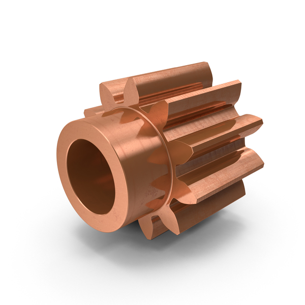 Copper Spur Gear PNG & PSD Images