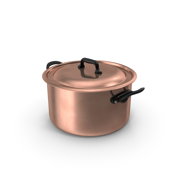 Copper Stockpot PNG & PSD Images