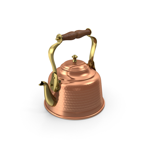 Copper Tea Kettle Object