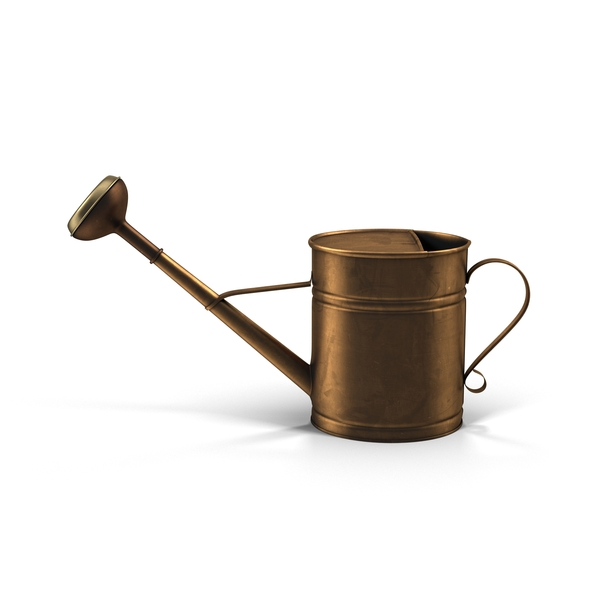 Copper Watering Can PNG & PSD Images