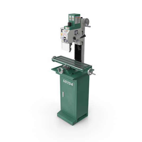 Corded Milling Machine Grizzly G0704 PNG & PSD Images