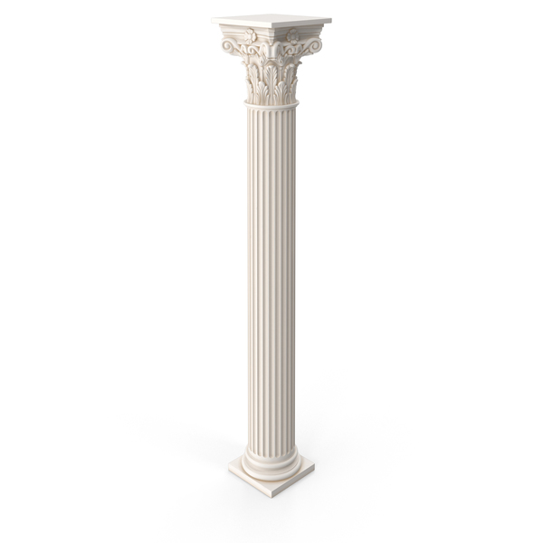 Corinthian Ancient Greek Column PNG & PSD Images