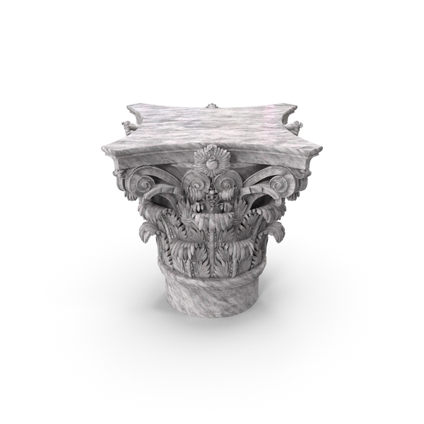 Corinthian Capital PNG & PSD Images