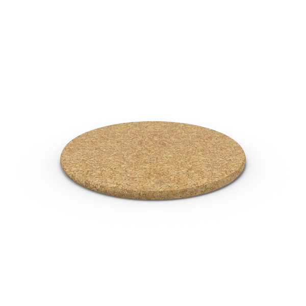 Drink: Cork Coaster PNG & PSD Images