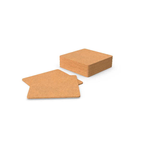 Cork Coasters Object