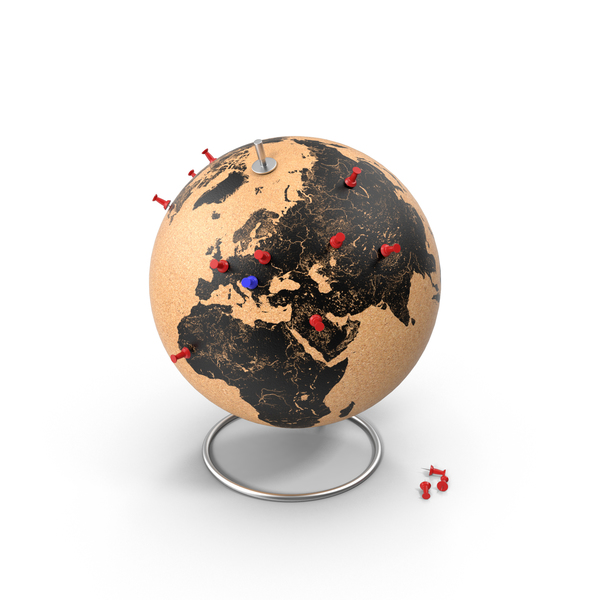 Cork Globe PNG & PSD Images