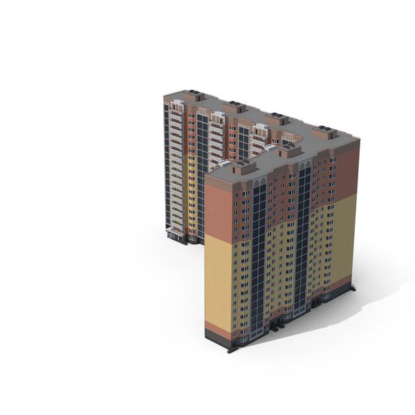 Corner City Building PNG & PSD Images
