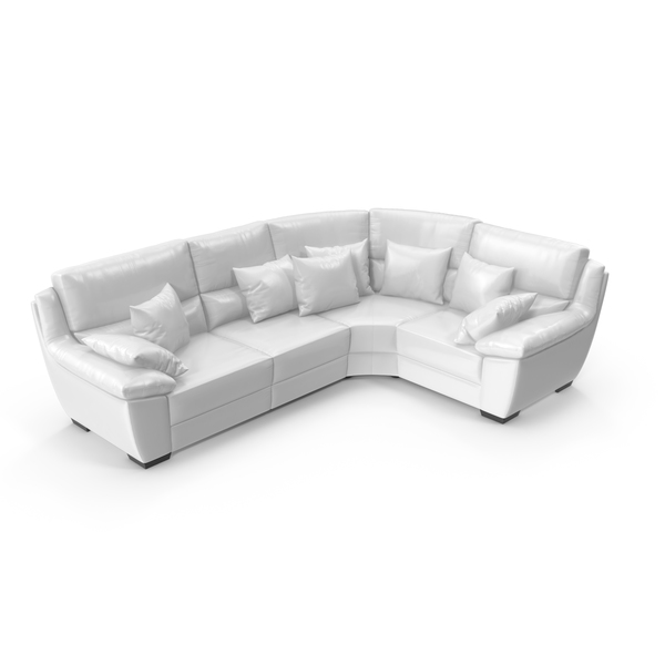 Corner Leather Sofa PNG & PSD Images