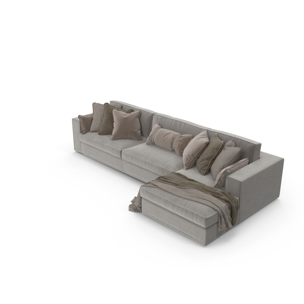 Corner Sectional Sofa PNG & PSD Images