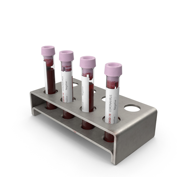 Coronavirus Blood Samples PNG & PSD Images