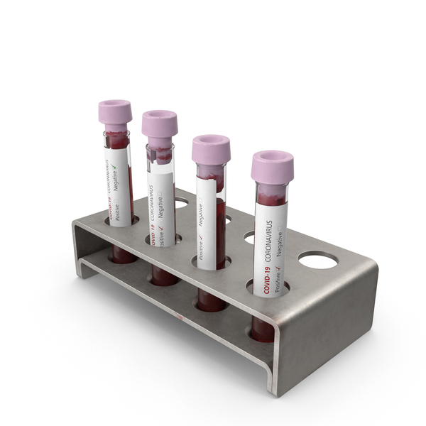 Coronavirus Blood Samples Mixed PNG & PSD Images