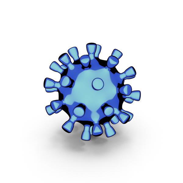 Coronavirus Cartoon PNG & PSD Images
