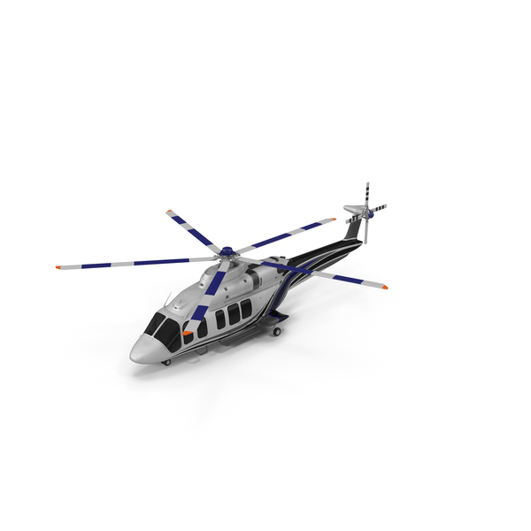 Civilian Utility: Corporate Helicopter Generic PNG & PSD Images