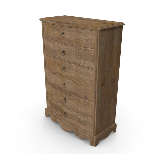 Corsica Six Drawer Chest PNG & PSD Images