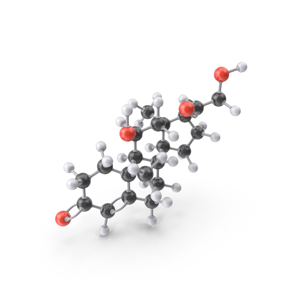 Corticosterone Molecule PNG & PSD Images