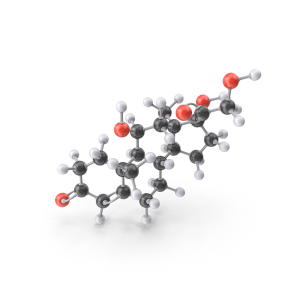 Cortisol Molecule PNG & PSD Images