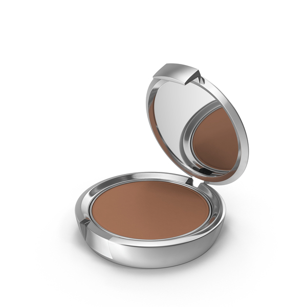 Face Powder: Cosmetic Compact PNG & PSD Images