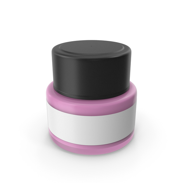 Lotion: Cosmetic Cream Bottle Pink PNG & PSD Images