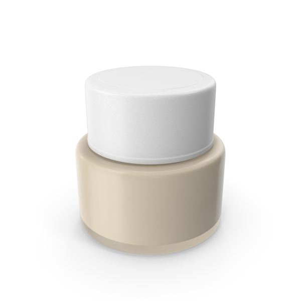 Toning: Cosmetic Cream Jar PNG & PSD Images