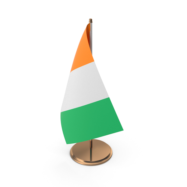 Côte d'Ivoire Desk Flag PNG & PSD Images