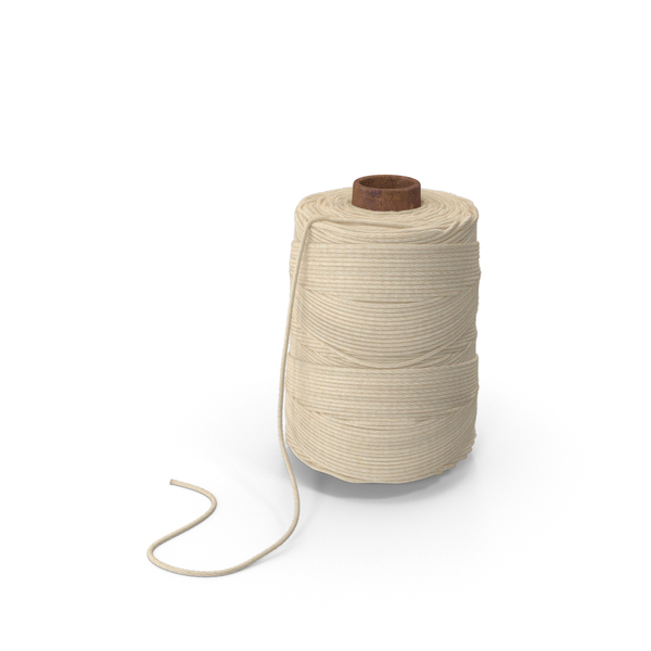 String: Cotton Cooking Twine Spool PNG & PSD Images