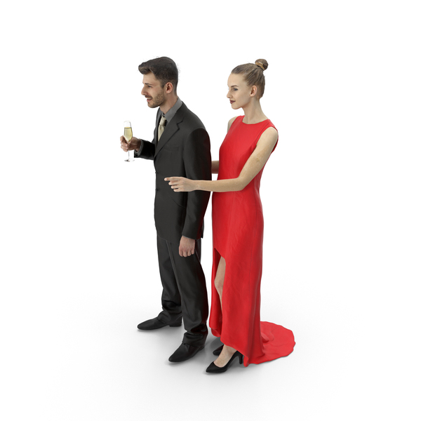 Couple Formal PNG & PSD Images