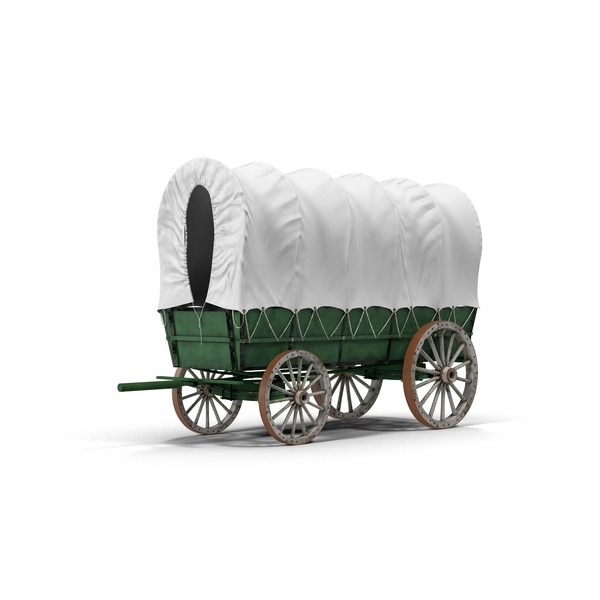 Covered Wagon Object