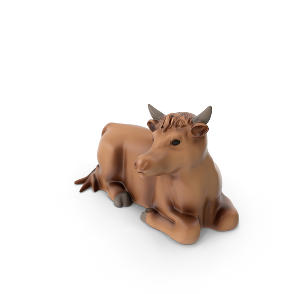 Cow Figurine PNG & PSD Images