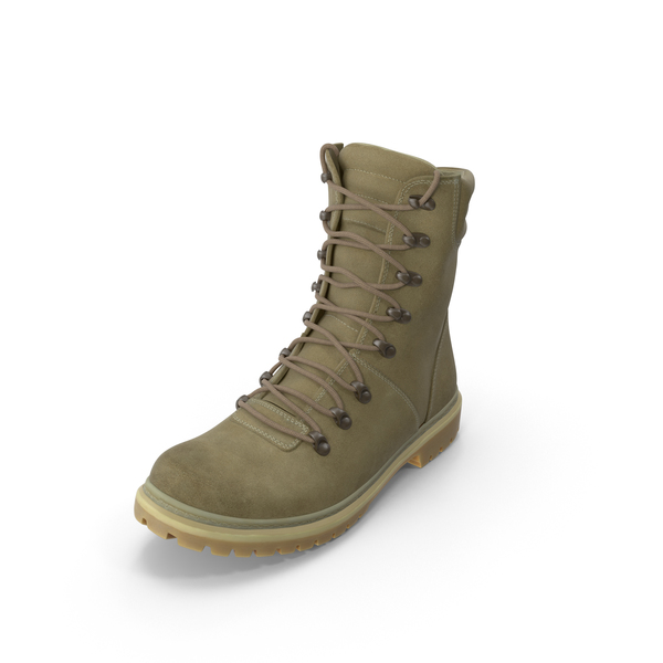 Boots: Coyote Military Boot PNG & PSD Images