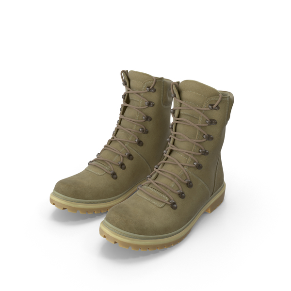 Coyote Military Boots PNG & PSD Images