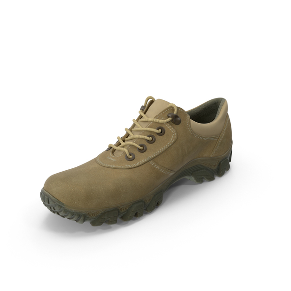 Coyote Military Shoe PNG & PSD Images