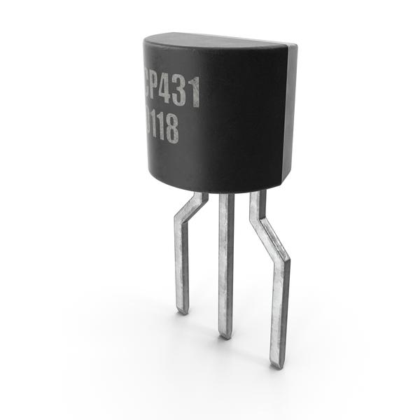 CP431 NPN Bipolar Junction Transistor PNG & PSD Images