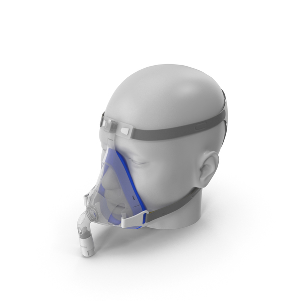 Sleeping: CPAP Mask PNG & PSD Images
