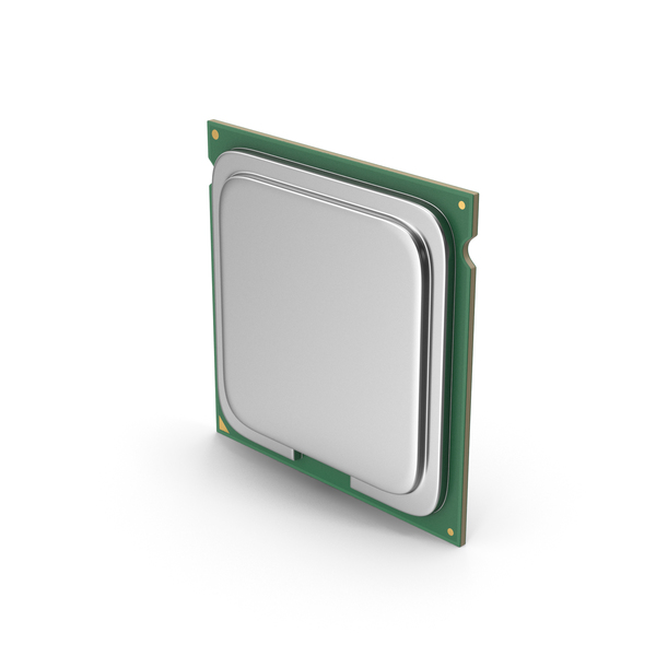 Computer Components: CPU PNG & PSD Images