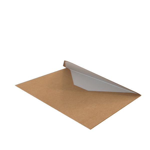 Craft and White Envelope PNG & PSD Images