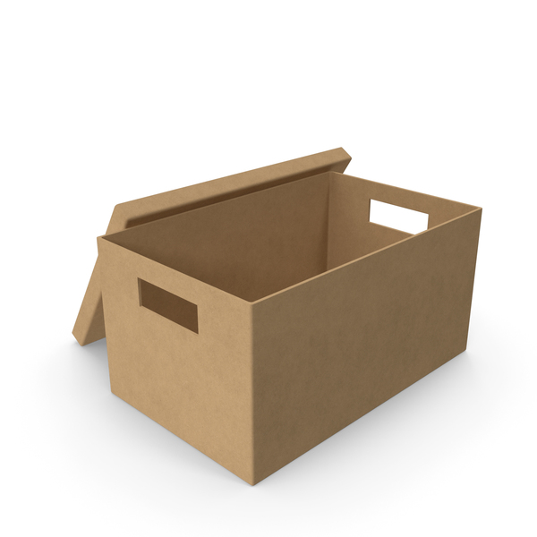 Craft Box Opened PNG & PSD Images
