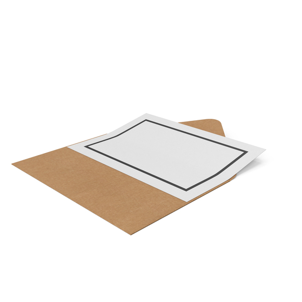 Craft Envelope and Paper PNG & PSD Images