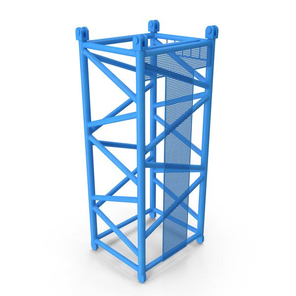 Crane D Intermediate Section 6m Blue PNG & PSD Images