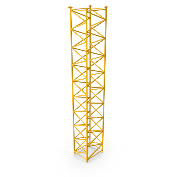 Crane F Intermediate Section 12m Yellow PNG & PSD Images