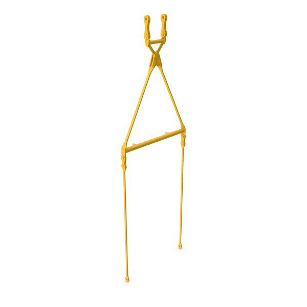Hook: Crane Fixed Pendant Link Yellow PNG & PSD Images