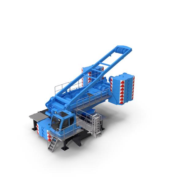 Crane LR 1600 Base Blue PNG & PSD Images