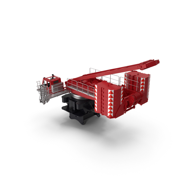Crane LR 1600 Base Red PNG & PSD Images